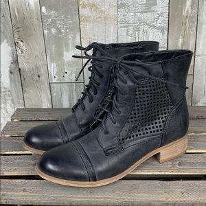 Black Poppy Booties - Black - Size 7
